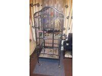 Parrot Cage - good condition - 1 yr old