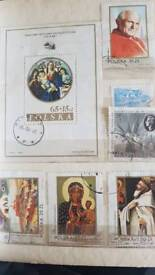 Polish stamp album