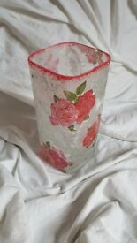 Flower vase, handmade home decoration