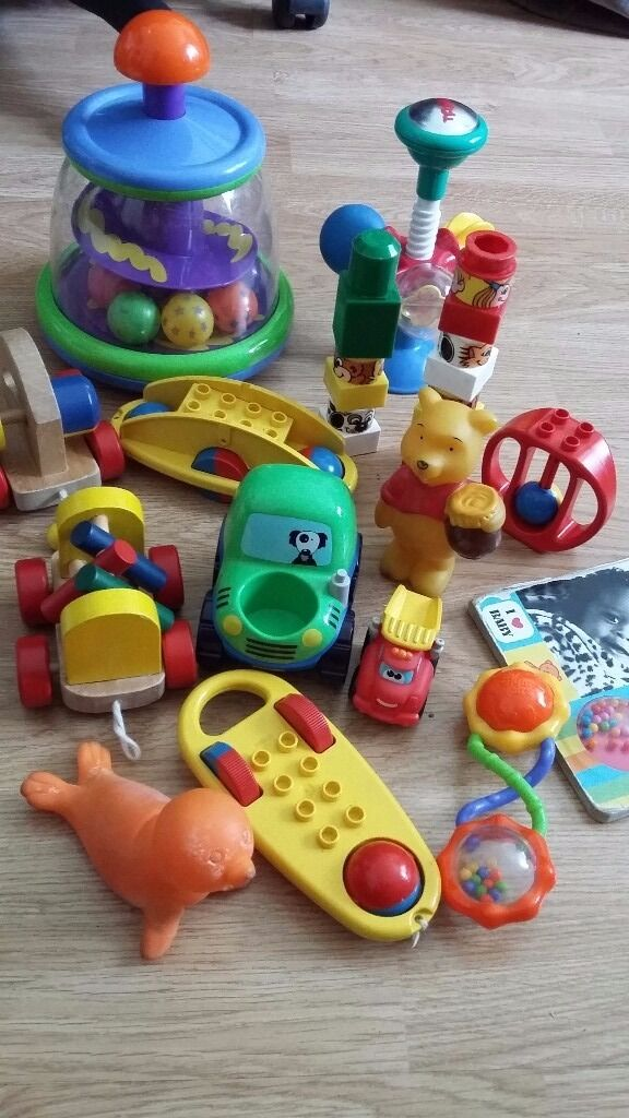 Baby Toys Suitable From Birth To 2 Years In Excellent Condition