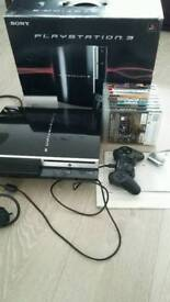Sony PS3 40GB with 9 games