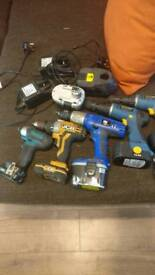 Makita JCB pbx workzone set of drills