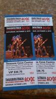 2 Ac DC tribute band tickets