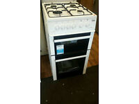 BRAND NEW BEKO GAS COOKER 50CM WIDE 12 MONTH GUARANTEE