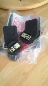 Quinny Zapp car seat adapters NEW