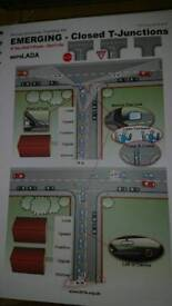 Driving Instructor Teaching Aid A4 book