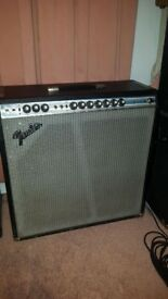 "Fender Superb Reverb 45W 4 x 10"" VINTAGE circa 1970 Original not Reissue !!!"