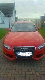 2009 (59 plate) Audi A4 s line for sale