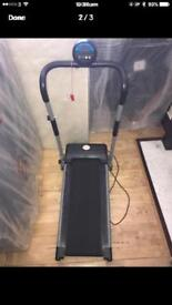 Electric treadmill in very good condition only been used for for five times