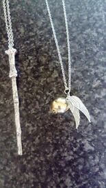 Brand new Harry Potter necklaces