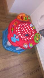 Baby's chad valley sit in activity saucer