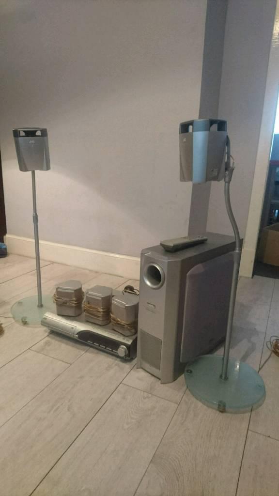 JVC HOME CINEMA SURROUND SOUND SYSTEM