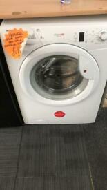 Hoover white 8kg load 1400 spin washing machine