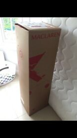 Maclaren Techno XT Stroller black/silver (NEW IN BOX)