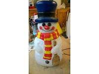 Snowman Outdoor Christmas Light