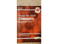 A level yr 1 & AS Chemistry OCR revision book