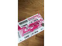 Creamfields Standard 3 day camping ticket £175!