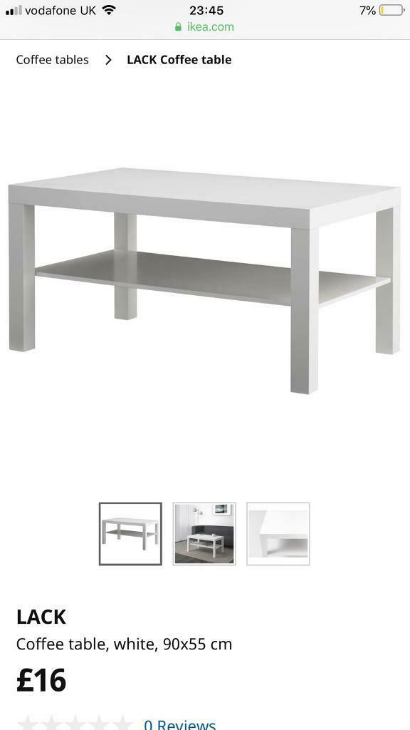 White Ikea Lack Coffee Table Brand New In Epsom Surrey Gumtree