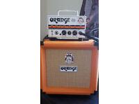 Orange Micro Terror Guitar Amp and 1x8 Cabinet + Optional Pedals