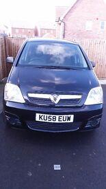 Vauxhall meriva, 38 700 mil, 2008, 1.4 diesel, MOT 10/17
