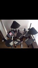 Yamaha dtxplorer electric electronic drum kit