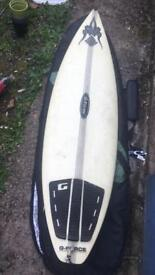 "Surf board 6'2"""