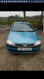 For Sale Vauxhall Corsa Elgance 16v 2003