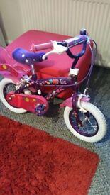 """12 """" girls bike"""