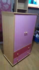 Pink wardrobe £80