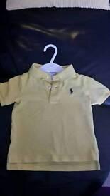 Ralph Lauren polo shirts 18 months