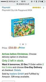 Playmobil City Life Playground 5024
