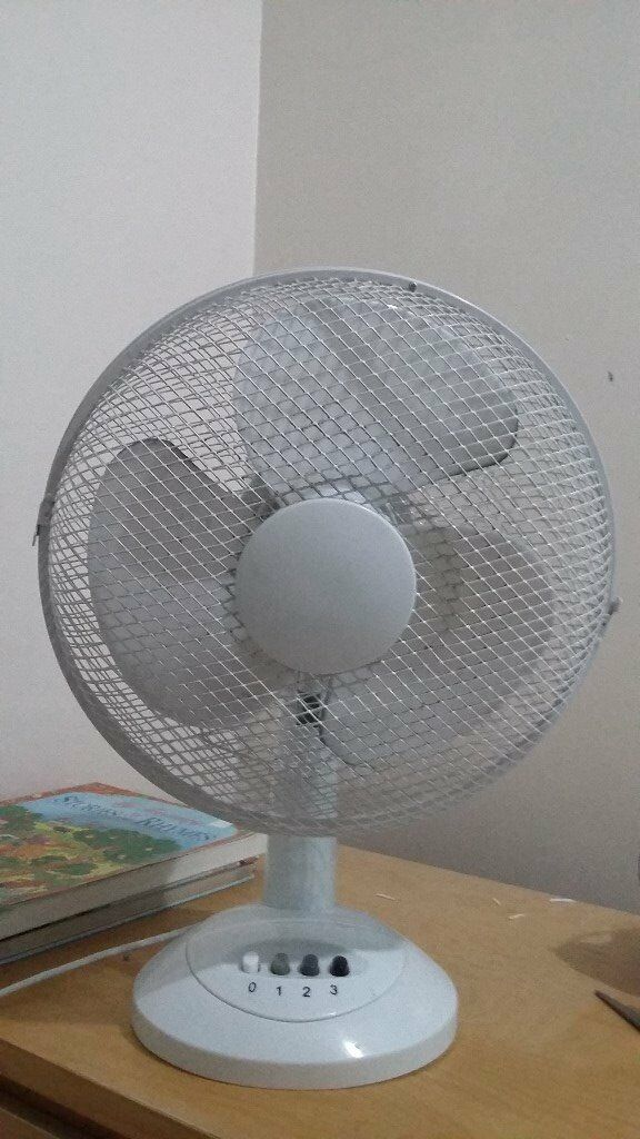 "Oscillating 12"" Fan available for sale in working condition @ Sheffield"