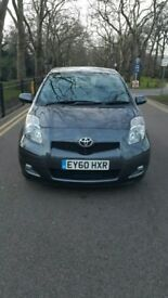 TOYOTA YARIS 5 DOOR 2010 REGISTER FULL SERVICE HISTORY