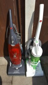 2 X Upright Vacuum cleaners