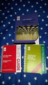 IEE Electricians Guide books x 3. Slightly used