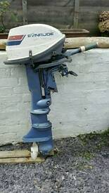 6hp evinrude fisherman outboard
