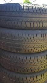 Tyre Vauxhall Corsa very good condition