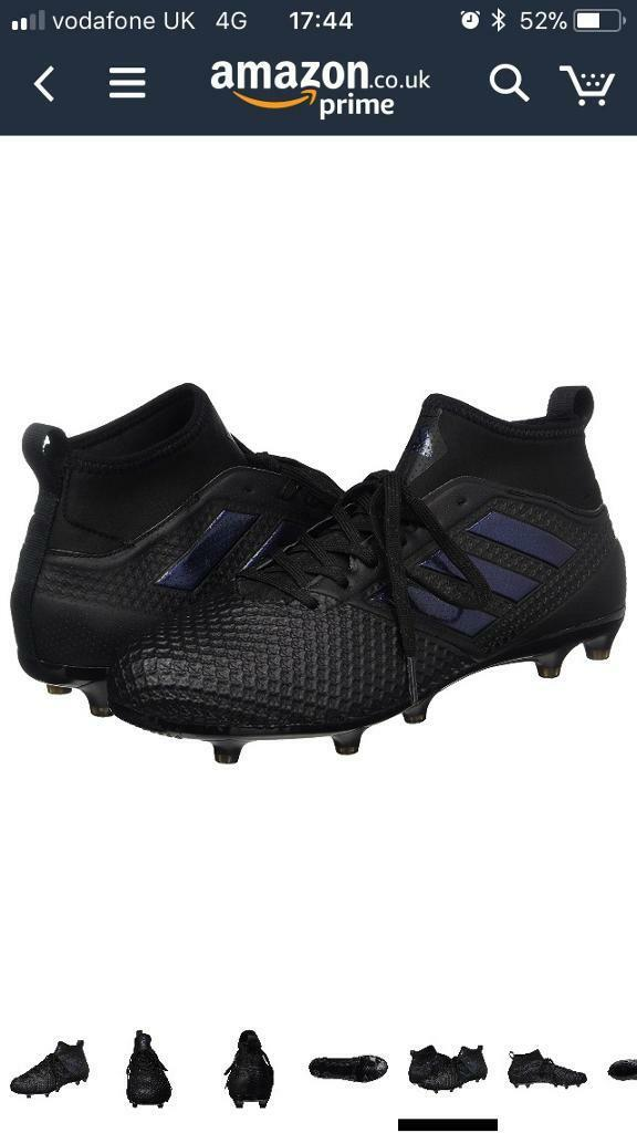 Addidas ace firm ground football boots