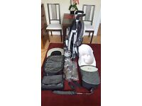Silver cross 3D pram, pushchair travel system, Pistachio