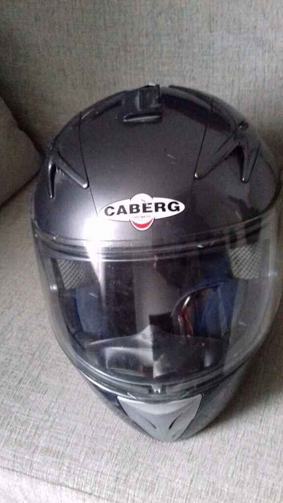 2 size M Helmets to sell (Caberg & Shark)