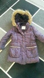 Girls coat 4-5 years vgc