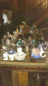 Bric a brac inc Royal memorabilia.