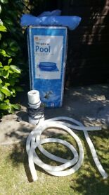 15ft quick up pool & pump
