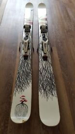 Mr Pollard's Opus Line Skis 185cm with Marker Duke Bindings and Colltex Skins