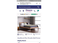 single beds and mattresses