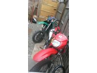 Good bike runs and rides mint had loads done to it ring me if your interested