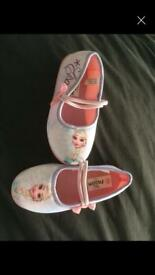 Frozen slippers size 11