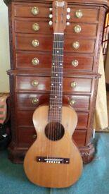 Vintage UstradS Parlor guitar RARE