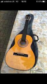 Practice acoustic guitar AS NEW