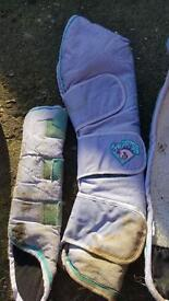 Cottage craft pony size travel boots & tail guard